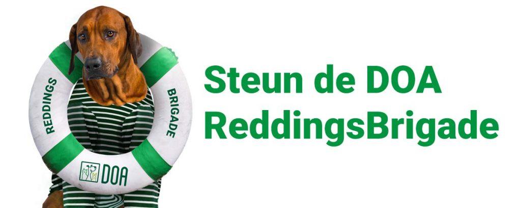 Steun de DOA ReddingsBrigade